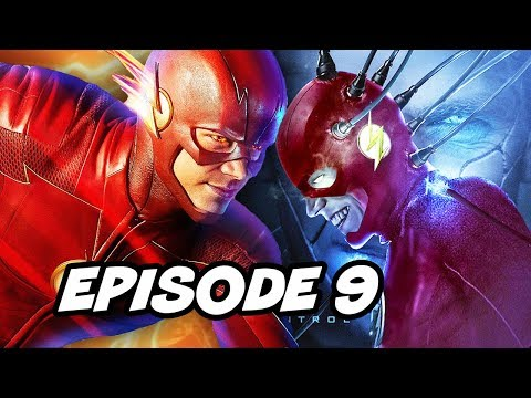 The Flash Season 4 Episode 9 - Flash Vs Thinker TOP 10 WTF And Easter Eggs