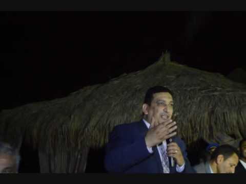 محمد الكسار يوجة الشكر للحضور من اعضاء النقابة العامة على الحضور