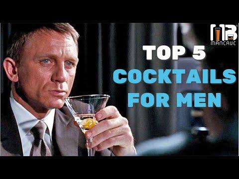 Top 5 Cocktails For Men