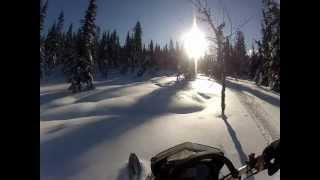 10. Ski-doo Freeride 137 - backcountry riding
