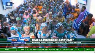 Nigeria@57: Nation Celebrates Independence Anniversary