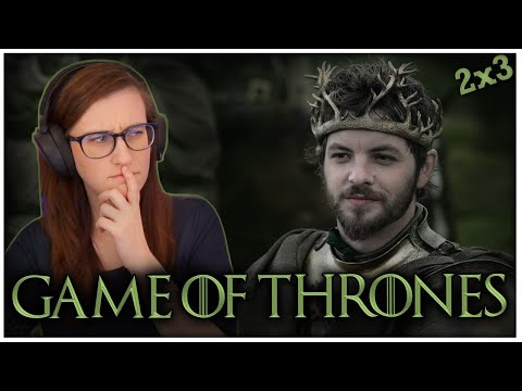 "Game of Thrones FIRST TIME WATCHING! Season 2 Ep 3 Reaction ""What Is Dead May Never Die"""