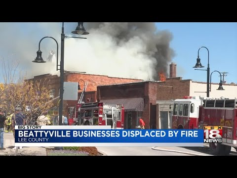 Beattyville Businesses Displaced By Fire