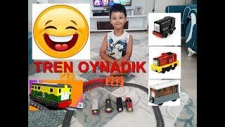 ARDA İLE THOMAS TRENLERİ OYNADIK!! eğlenceli çocuk videosu, çocuklar için video SAYFAMIZI BEĞENİP, YORUM...