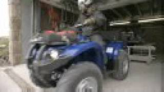 10. 2009 Yamaha Grizzly 450