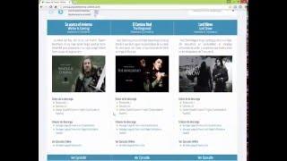 Juego de Tronos Online: http://shink.in/a/104192/Juego-de-Tronos-Online Acá le dejo los enlaces para ambos canales, y así...