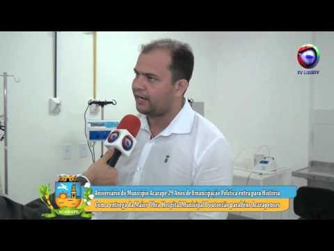 HOSPITAL O DOUTORZÃO 29 ANOS DE EMANCIPAÇÃO POLITICA DE ACARAPE ENTREVISTA COM PAULO QUARESMA