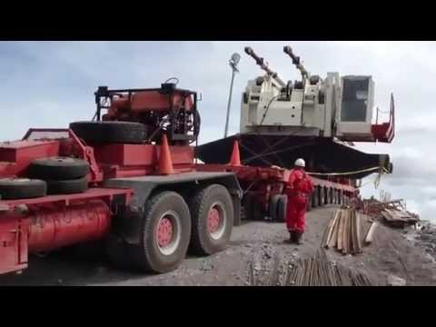 haul truck crash - moving of a mega machine goes wrong!