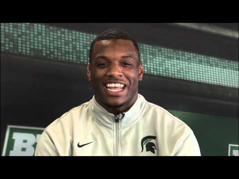 Shilique Calhoun Interview 2/11/2014 video.