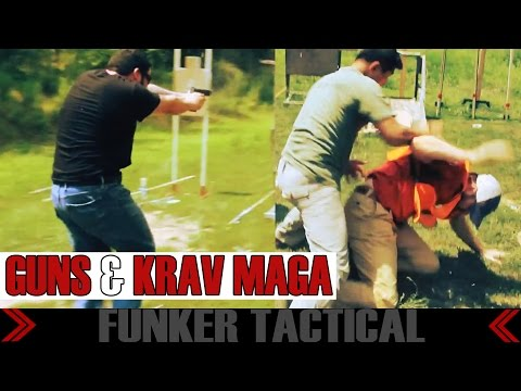 Combat Veteran in Experimental Krav Maga & Firearms Black Belt Test