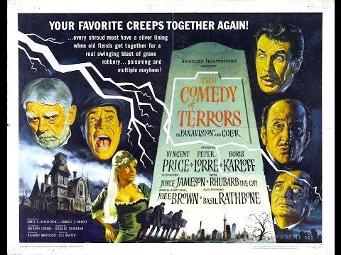 The Fantastic Films Of Vincent Price #58 - Comedy Of Terrors