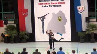 Nadine Mattis & Marco Schmidberger - LM Baden-Württemberg & Hessen 2015