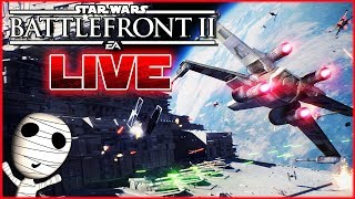 Kurzer Starfighter Stream! 🔴  Star Wars: Battlefront II // Ps4 Livestream