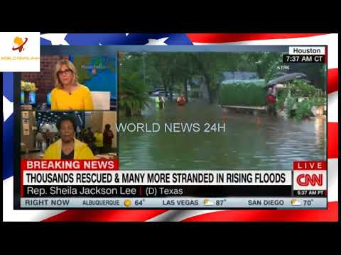 Sheila Jackson Lee Makes Horrible Hurricane Harvey Gaffe on Live TV [Video]