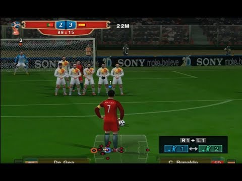 PES 2018 (PS2) All Free Kick Goals World Cup 2018 Russia Similar