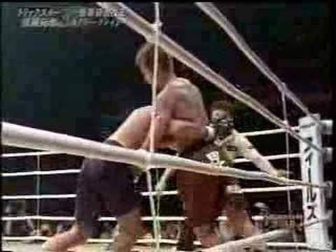 Genki Sudo vs Royler Gracie - K1