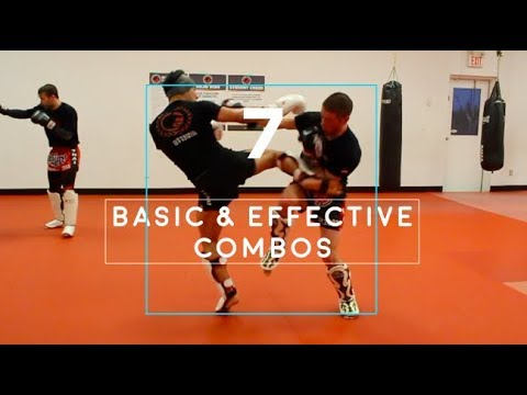 7 of my BEST Basic Offensive Combos (Real Time Sparring Footage) (видео)