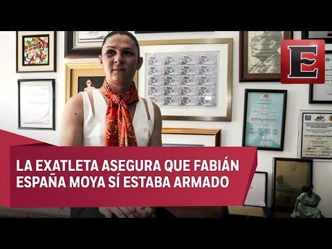 Agresor de Ana Gabriela Guevara comparece ante juzgado