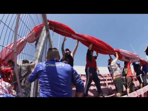 La U es su Gente / Bandera Gigante U. de Chile / Día del Hincha Azul - Los de Abajo - Universidad de Chile - La U