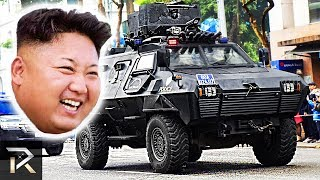 Video 10 Crazy Things Kim Jong-Un Owns To Protect Himself MP3, 3GP, MP4, WEBM, AVI, FLV Maret 2019