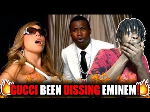 This Started Eminem & Gucci Beef! | Mariah Carey - Obsessed (Remix) ft. Gucci Mane (REACTION!)