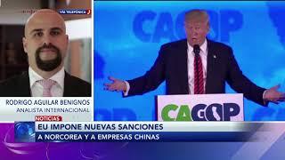 Comentario de Rodrigo Aguilar Benignos sobre las nuevas sanciones que EU le impuso a Norcorea