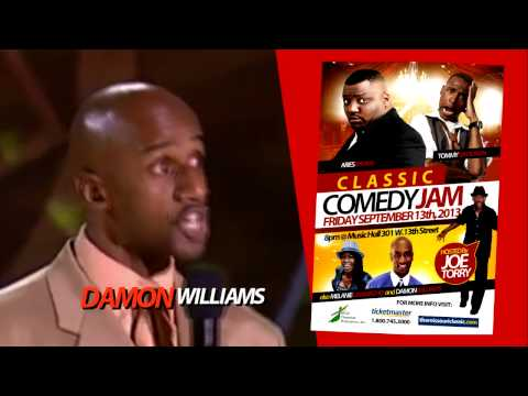 HILARIOUS VIDEO OF DAMON WILLIAMS *** MISSOURI CLASSIC COMEDY JAM ***