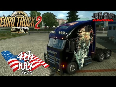 Freightliner Argost 4th of July Skin