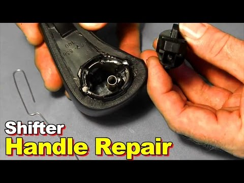2003 2006 Honda Accord Broken Shifter Button Replacement