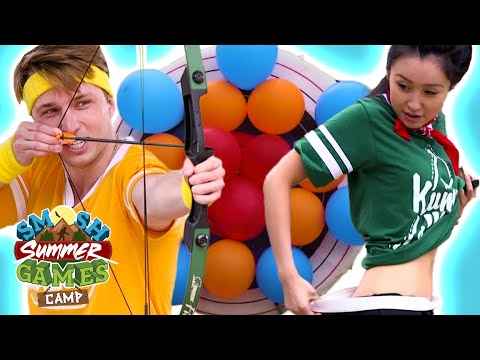 PUNISHMENT ARCHERY (Smosh Summer Games) (видео)