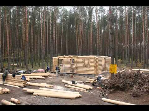 comment construire chalet bois rond