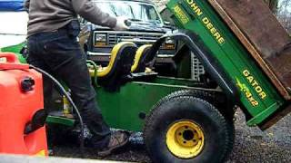 4. john deere gator old start cold start