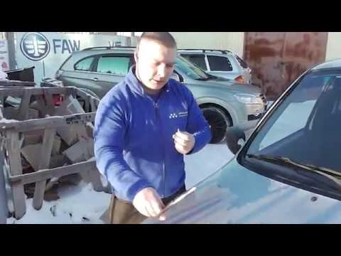 Как самостоятельно отремонтировать скол на лобовом стекле?