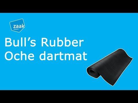 Bull's Rubber Oche dartmat - review