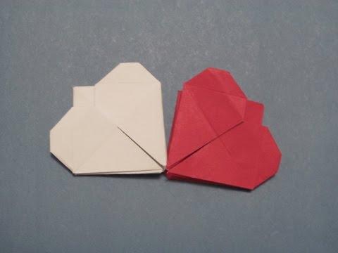 Смотреть видео как сделать оригами сердце