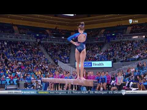 Madison Kocian (UCLA) 2018 Beam vs Utah 9.9