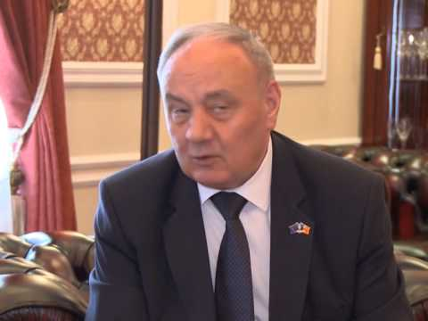 Moldovan president meets Austrian envoy