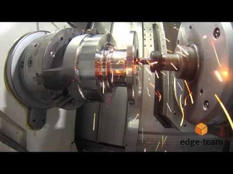 Edgecam Waveform on Okuma Multus U3000  - Af: Harun Göbekoglu (видео)
