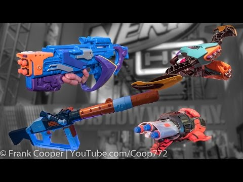 Misc. Nerf Blasters | Toy Fair Overview