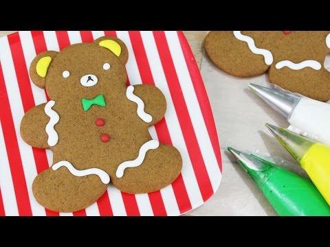 How to Make Rilakkuma Gingerbread Men!