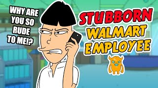 This is quite possibly the most stubborn Walmart employee ever.Send out some prank calls yourself and hear them LIVE using my app! http://own.ag/app  Subscribe to catch my future videos! http://own.ag/youtubeFacebook--------------------- http://facebook.com/OwnagePranksTwitter ------------------------ http://twitter.com/OwnagePranks2nd channel / Extras ---- http://youtube.com/MrOwnagePranksMerchandise ---------------- http://ownagepranks.spreadshirt.comOwnage Pranks is a channel devoted to prank calls. With over nine misfit characters voiced by one comedian, Ownage Pranks brings you a weekly dose of unscripted and improvised pranks that are sure to make you fall out of your seat laughing. What began as a hobby to entertain friends in 2004 has since evolved into the most subscribed prank call channel on YouTube! Join the OP Crew by subscribing and tune in every week to catch our hilarious, wild and outrageous pranks!