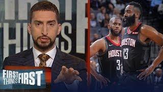 Video 'The Chris Paul and James Harden tension is real' - Nick Wright | NBA | FIRST THINGS FIRST MP3, 3GP, MP4, WEBM, AVI, FLV Juni 2019