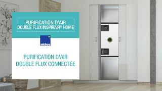 InspirAIR® Home : la première solution Aldes de purification d'air centralisée
