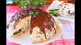 PISANI RECEPT: http://www.serpica.net/2017/07/sladoled-torta-sa-oreo-keksom.htmlNapravićete je za manje od pola sata a dobiti prelepu tortu na izgled i ukus. Još kada je dobro rashladite imaćete pravu sladoled tortu.Facebook stranica: https://www.facebook.com/serpicadomacireceptiInstagram: https://www.instagram.com/ivana_serpica/