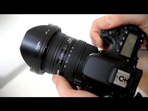 Sigma 10-20mm f/3.5 EX DC HSM lens review with samples