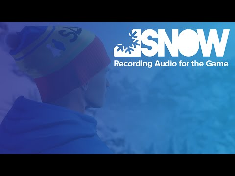 SNOW — Recording Audio for the Game