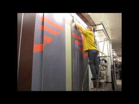 Dockers JCPenney Wallpaper Installation