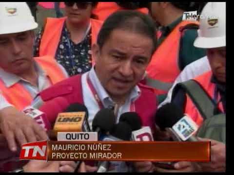 USD. 7.635 millones recibirá Ecuador por proyecto minero Mirador hasta 2049