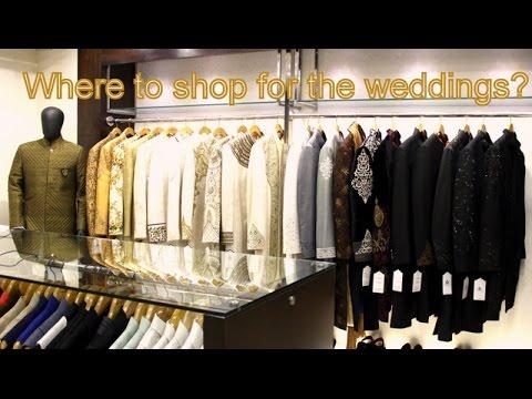Where to shop for weddings | Men's Wedding wear guide | Amazing wedding wear from Kapil & Mmonika