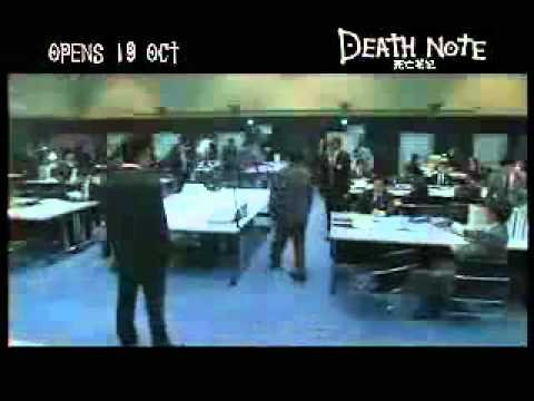 Death Note The Movie (2006) Trailer (Eng Subs)